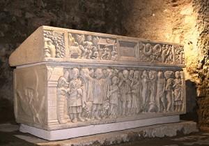 Aire sur l'Adour Crypte et Sarcophage Ste-Quitterie 1