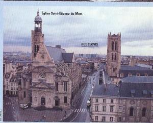 Paris Rue Clovis