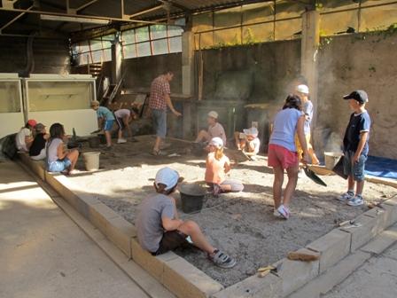 Agde - Bac à fouilles